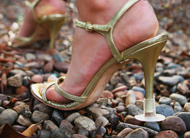 This Solution Will Allow You to Wear Heels on Any Terrain